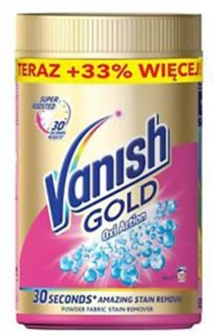 VANISH GOLD OXI ACTION 625γρ.
