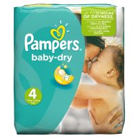 PAMPERS BABY DRY No4