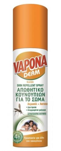 VAPONA DERM SPRAY 100ml