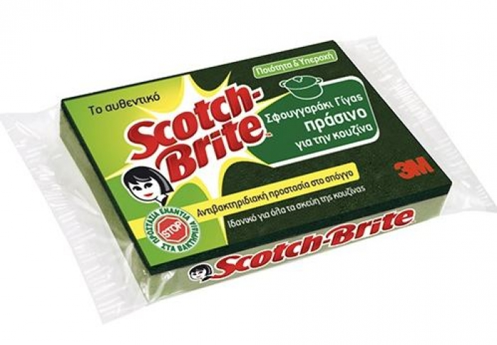 SCOTCH BRITE ANTIBACTERIAL ΓΙΓΑΣ 1τεμ.