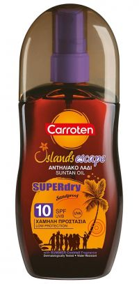 CARROTEN SUPERDRY ΛΑΔΙ SPF10 125ml
