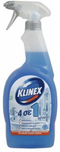 KLINEX SPRAY 4 in 1 ΜΠΑΝΙΟ 750ml