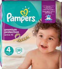 PAMPERS ACTIVE FIT No4