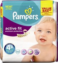 PAMPERS ACTIVE FIT No4+