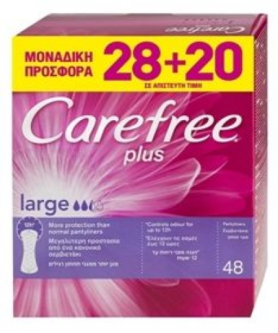 CAREFREE LARGE 28+20τεμ. ΔΩΡΟ