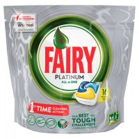 FAIRY PLATINUM LEMON TABS 16τεμ.