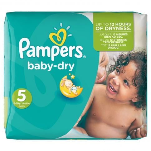 PAMPERS BABY DRY No5