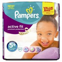 PAMPERS ACTIVE FIT 5+