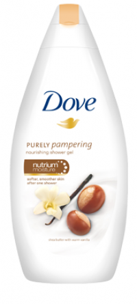 DOVE SHEA BUTTER 750ml