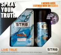STR8 LIVE TRUE AFL 100ml+DEO 150ml