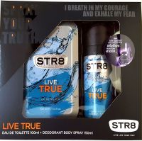 STR8 LIVE TRUE EDT 100ml+DEO 150ml